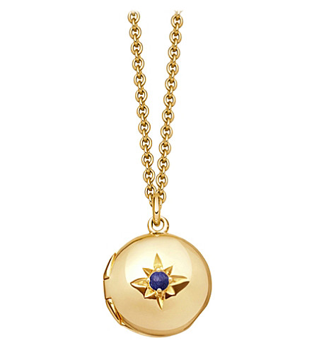 ASTLEY CLARKE Biography 18ct yellow-gold plated locket necklace