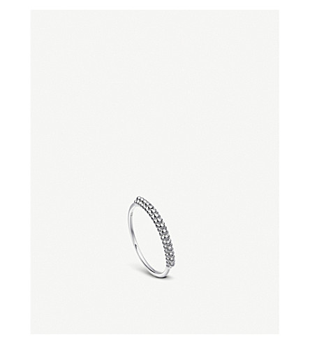 ASTLEY CLARKE Floris sterling silver Mille Ring