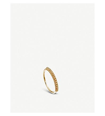 ASTLEY CLARKE Floris 18-ct yellow gold vermeil Mille Ring