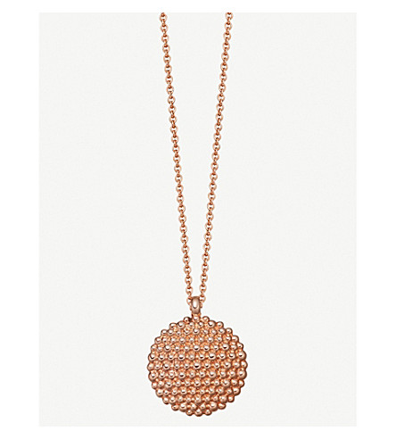 ASTLEY CLARKE Floris Mille 18ct rose-gold vermeil necklace