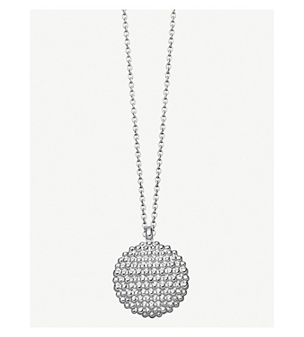 ASTLEY CLARKE Floris Mille sterling silver necklace