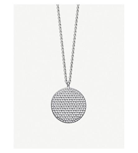 ASTLEY CLARKE Floris sterling silver Mille Locket necklace