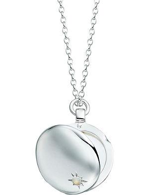ASTLEY CLARKE Astley sterling silver locket