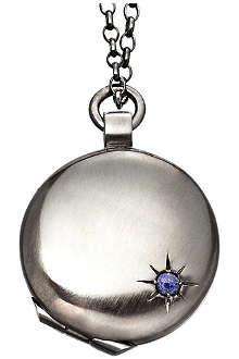 ASTLEY CLARKE Astley black ruthenium locket