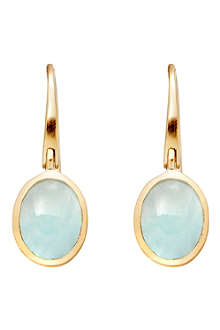 ASTLEY CLARKE Cadenza Milky Aqua Quartz earrings