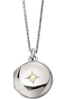 ASTLEY CLARKE Little Astley sterling silver locket