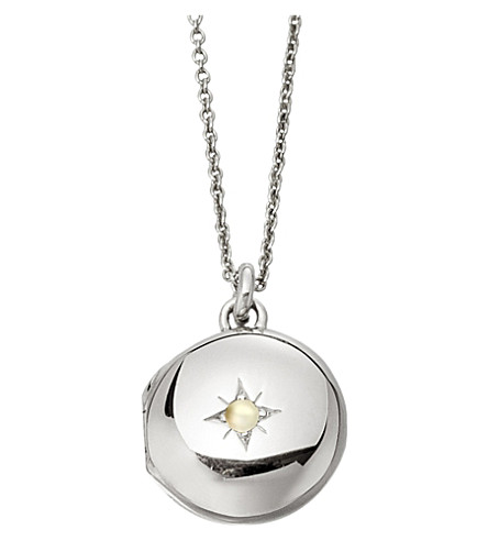 ASTLEY CLARKE Little Astley sterling silver locket (Sterling+silver