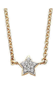 ASTLEY CLARKE Diamond Star 14ct gold pendant necklace