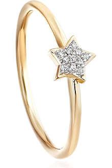 ASTLEY CLARKE A Little Light 14ct gold diamond ring