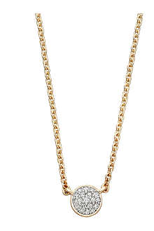 ASTLEY CLARKE A Little Muse 14ct gold diamond pendant necklace