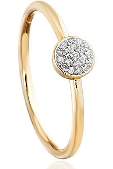 ASTLEY CLARKE A Little Muse 14ct gold pave diamond ring