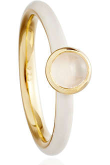 ASTLEY CLARKE Sea shell centime 18-carat gold vermeil ring
