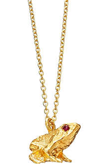 ASTLEY CLARKE Prince Charming Frog necklace