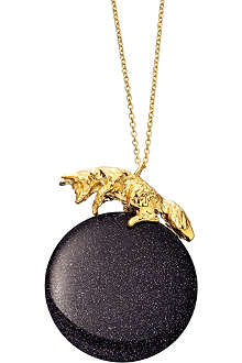 ASTLEY CLARKE Blue Moon Fox necklace