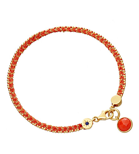 ASTLEY CLARKE Rebel Rebel coral bracelet (Coral