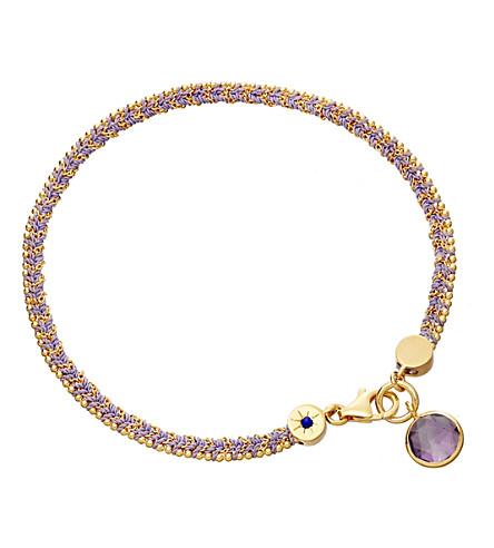 ASTLEY CLARKE Modern Love amethyst bracelet (Lilac