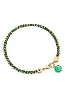 ASTLEY CLARKE Let's Dance green quartz bracelet