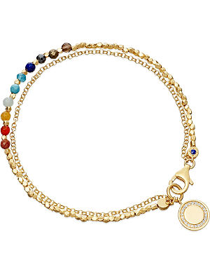 ASTLEY CLARKE Cosmos 18ct gold vermeil friendship bracelet