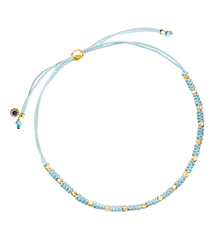 ASTLEY CLARKE Hope Biography skinny bracelet (Duck+egg+blue