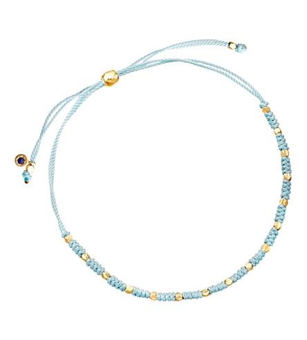 ASTLEY CLARKE Hope Biography skinny bracelet (Duck egg blue