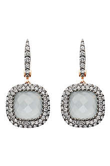 ASTLEY CLARKE Grey aquamarine Connie earrings