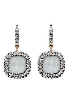 ASTLEY CLARKE Grey aquamarine Connie earrings