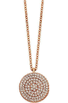 ASTLEY CLARKE Icon 18ct gold vermeil pendant necklace
