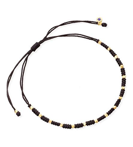 ASTLEY CLARKE Luck skinny bracelet (Black