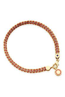 ASTLEY CLARKE Cajun Shrimp Cosmos friendship bracelet