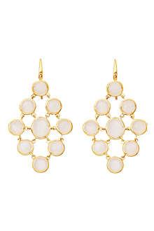 ASTLEY CLARKE Moonstone chandeliers 18ct gold vermeil earrings