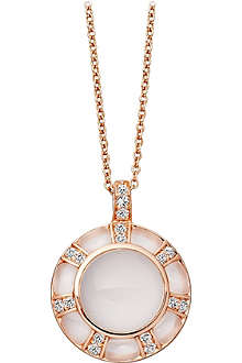 ASTLEY CLARKE Ruthie 18ct gold moonstone pendant necklace
