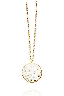 ASTLEY CLARKE Sea Shell Star Shower 18ct gold vermeil pendant necklace