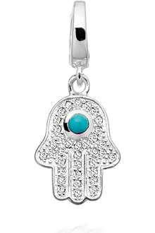 ASTLEY CLARKE Hamsa sterling silver charm