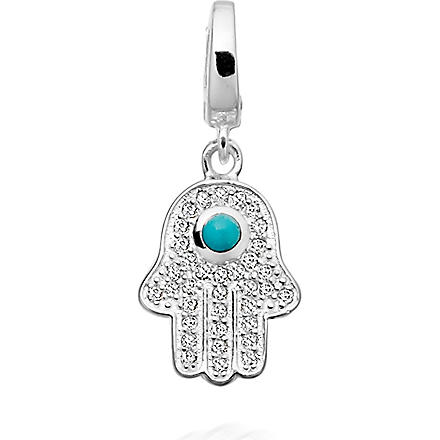 ASTLEY CLARKE Hamsa sterling silver charm (Silver