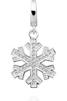 ASTLEY CLARKE Winter Skies sterling silver diamond charm