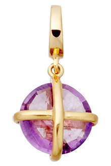ASTLEY CLARKE Quick Thinking Tied Up 18ct gold amethyst charm