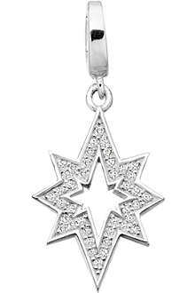 ASTLEY CLARKE Star of Wonder sterling silver diamond charm