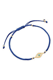 ASTLEY CLARKE Evil Eye woven friendship bracelet
