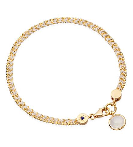 ASTLEY CLARKE Stardust friendship bracelet (Cream
