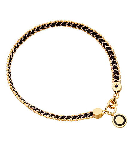 ASTLEY CLARKE London Nights cosmos stones bracelet (Black, pink
