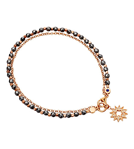 ASTLEY CLARKE Sun friendship bracelet (Black