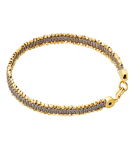 ASTLEY CLARKE Forever Changed nugget bracelet (Grey, gold