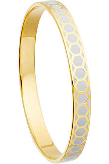ASTLEY CLARKE Moonlight honeycomb bangle