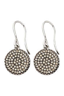 ASTLEY CLARKE Small Icon 14ct white gold drop earrings