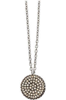 ASTLEY CLARKE Small Icon 14ct white gold pendant necklace
