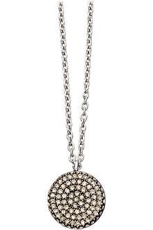 ASTLEY CLARKE Small Icon 14ct white gold pendant necklace