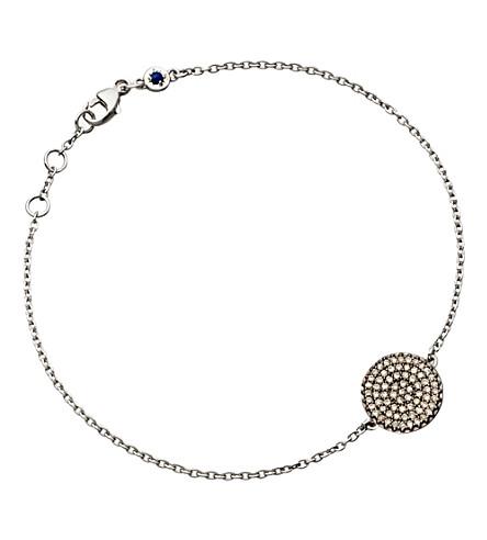 ASTLEY CLARKE Small Icon 14ct white gold bracelet (White