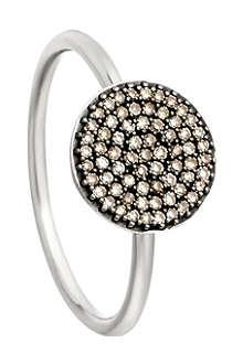 ASTLEY CLARKE Small Icon 14ct white gold diamond ring