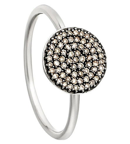 ASTLEY CLARKE Small Icon 14ct white gold diamond ring (White