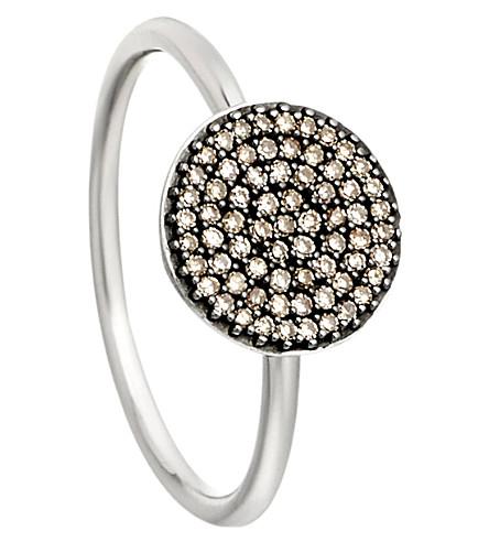 ASTLEY CLARKE Small Icon 14ct white gold diamond ring (White